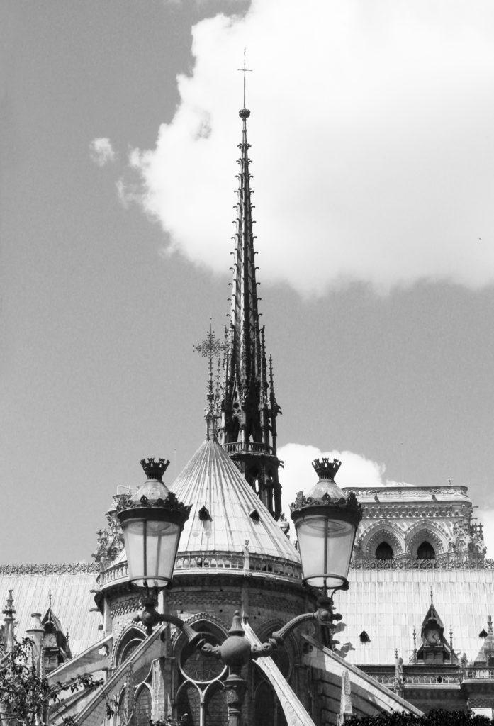 Architecture Flèche Notre Dame