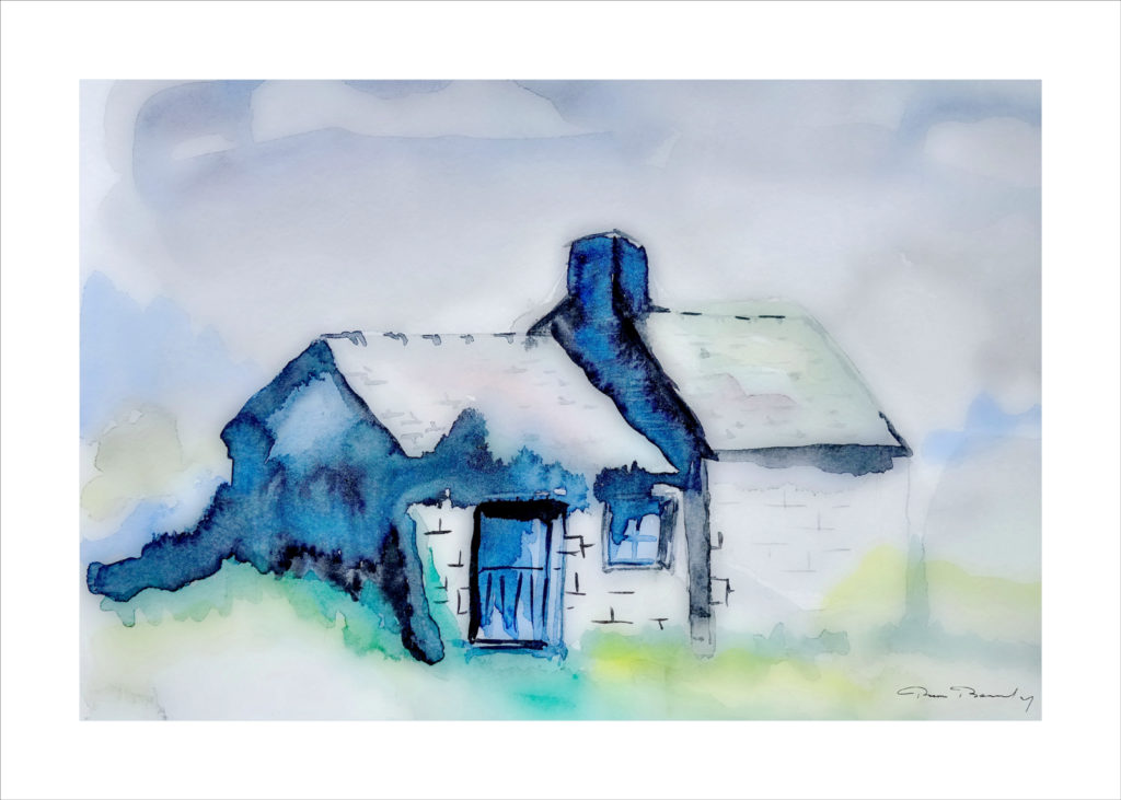 peinture, aquarelle, Bretagne