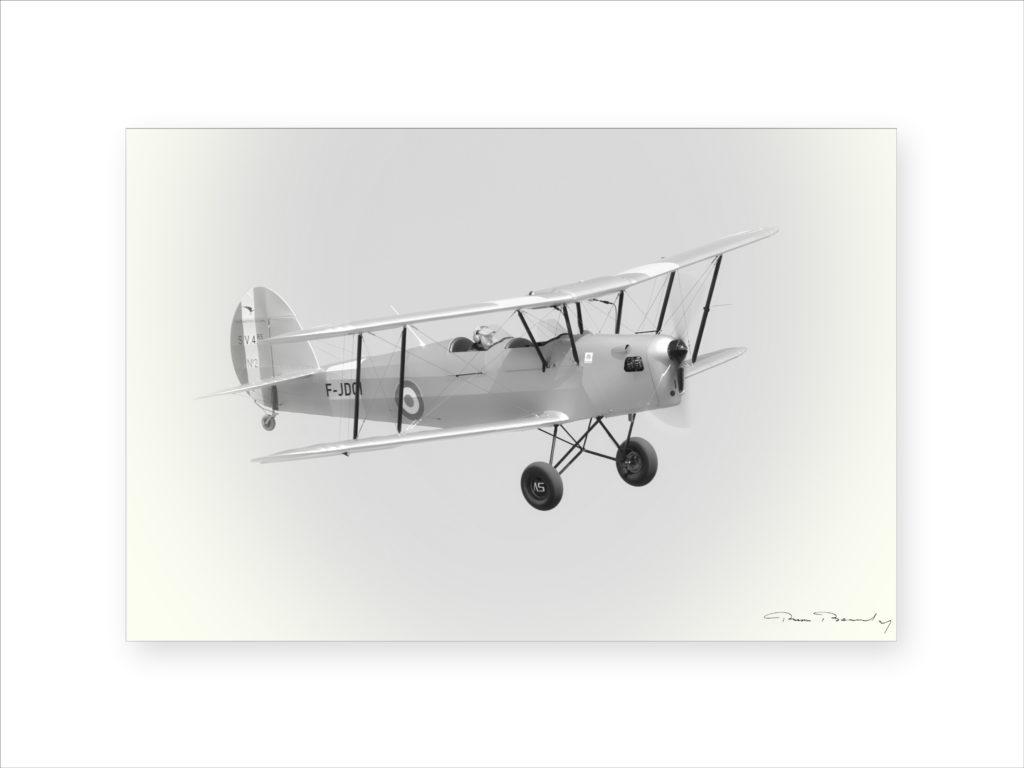 Aviation, avion, en vol