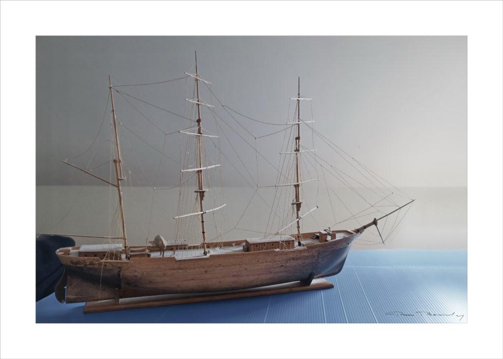 maquette, bateau