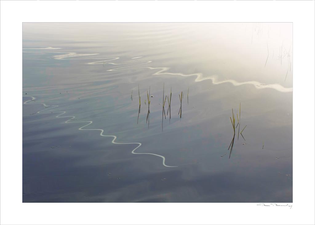 reflet, eau, graphisme